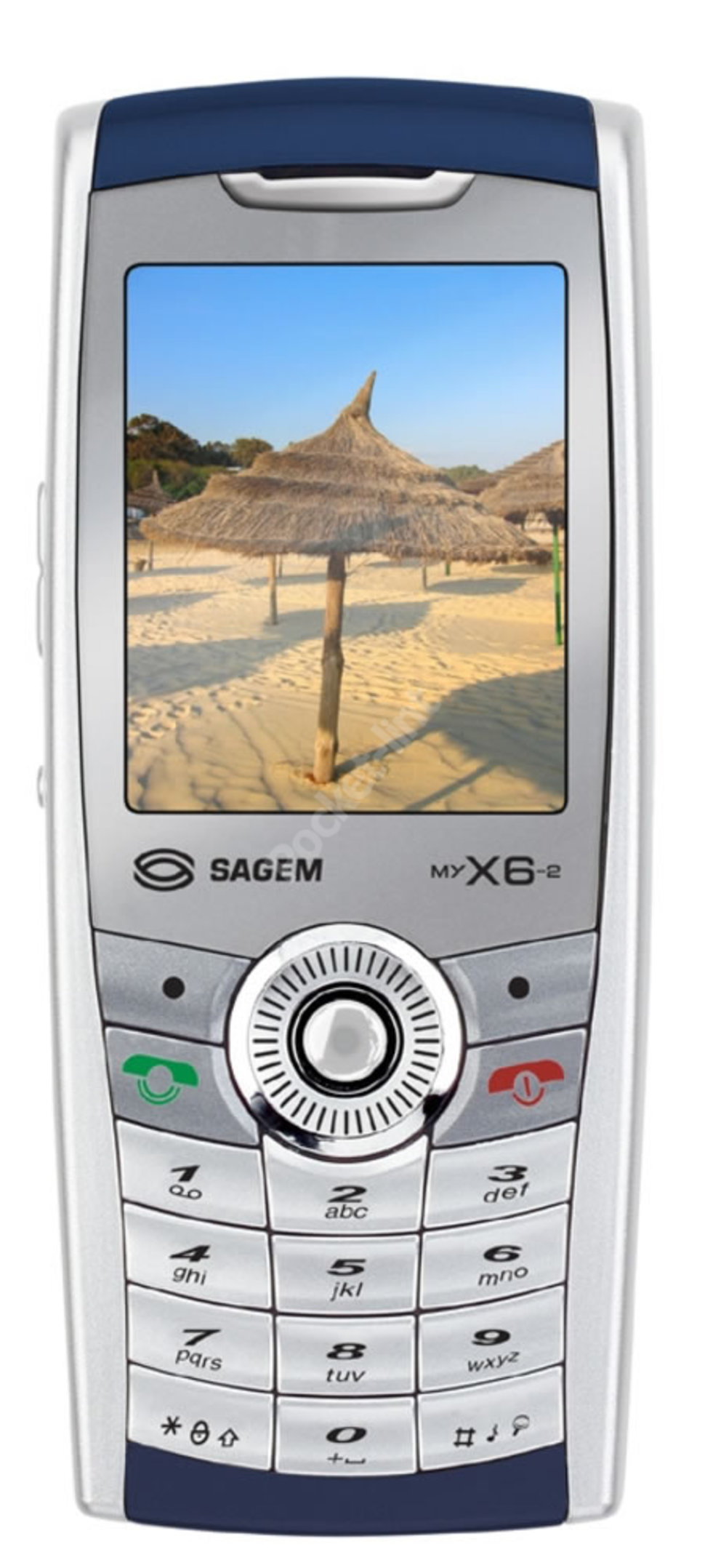 sagem my x6 2 mobile phone image 1