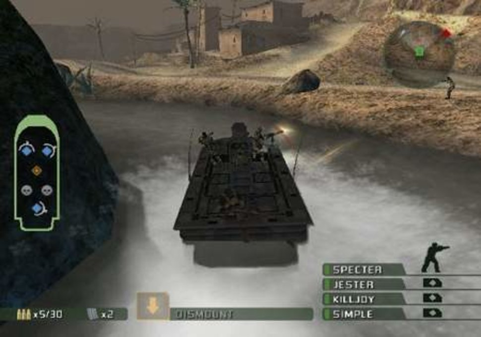 SOCOM 3: US Navy SEALs – PS2