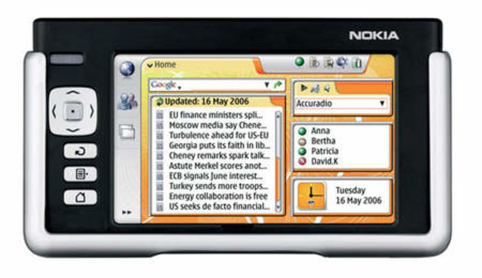 nokia 770 internet tablet rh pocket lint com Nokia N900 Nokia 770 Internet Tablet