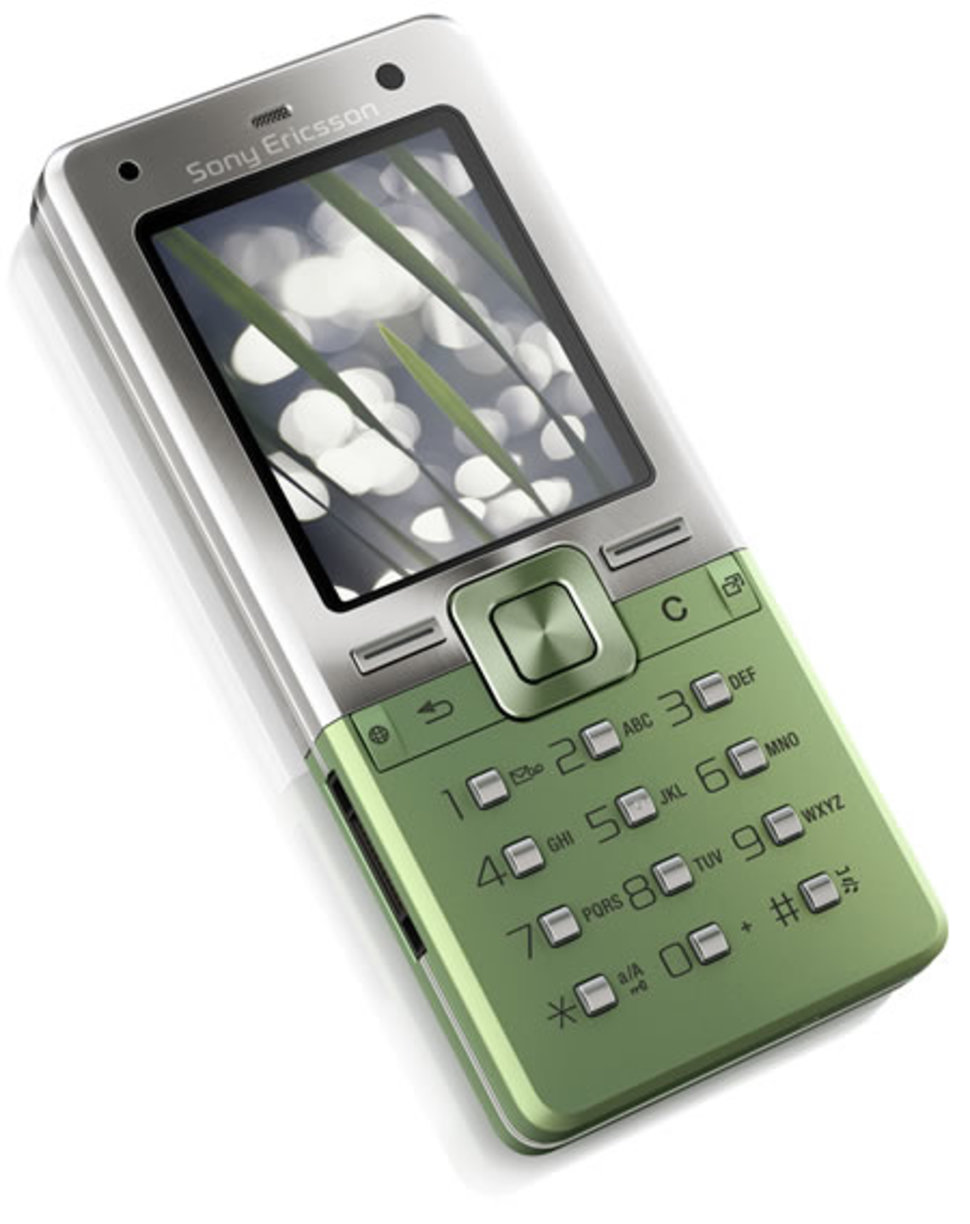 sony ericsson t650i mobile phone first look pocket lint