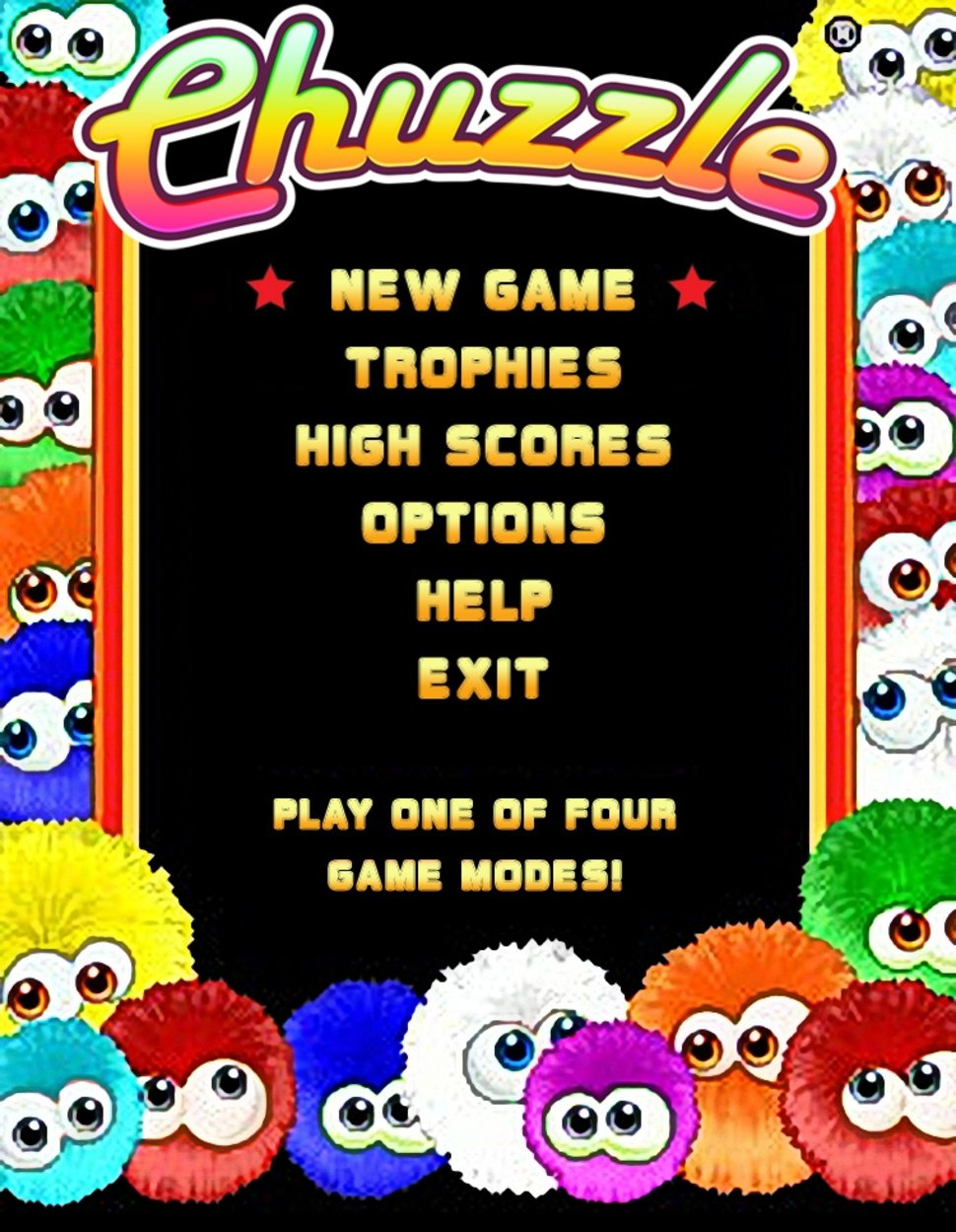 chuzzle mobile phone game image 1