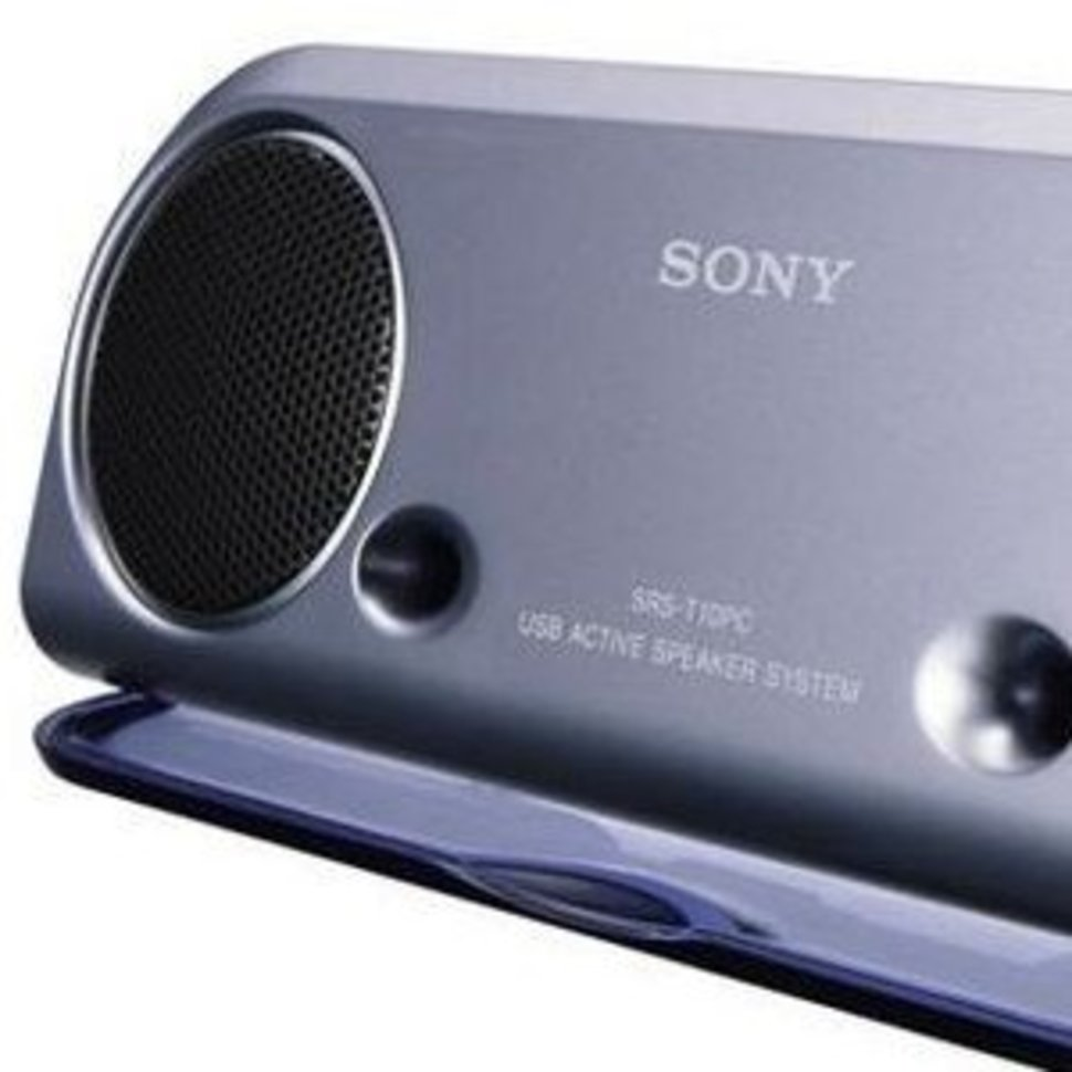 Sony Srs T10pc Travel Speakers Image 1