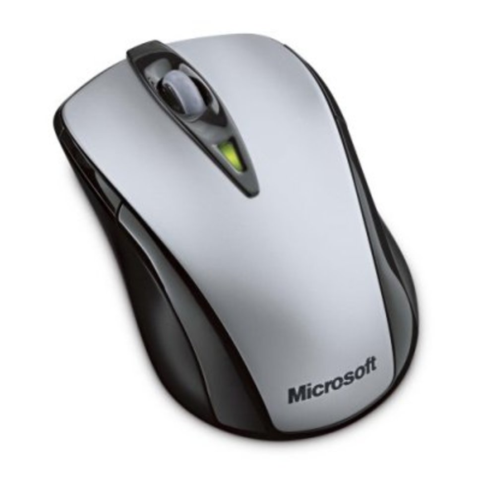 Microsoft Wireless Notebook Laser Mouse 7000 - Pocket-lint
