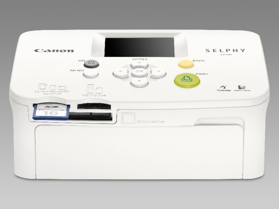 CANON SELPHY CP760 DRIVER FOR WINDOWS 7