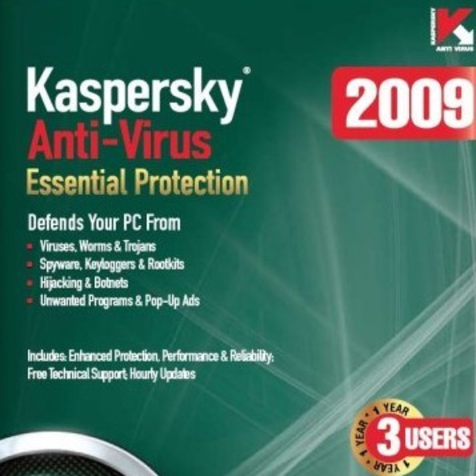 kaspersky anti virus 2009 pc image 1