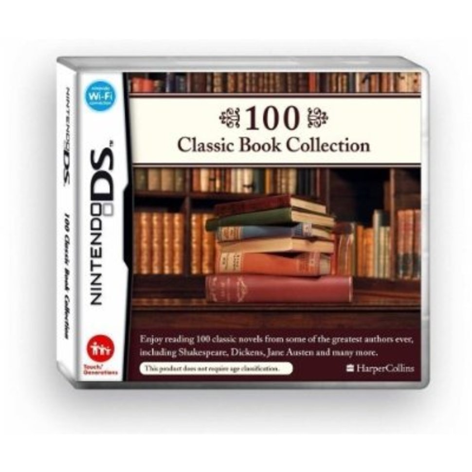 100 Classic Book Collection - Nintendo DS