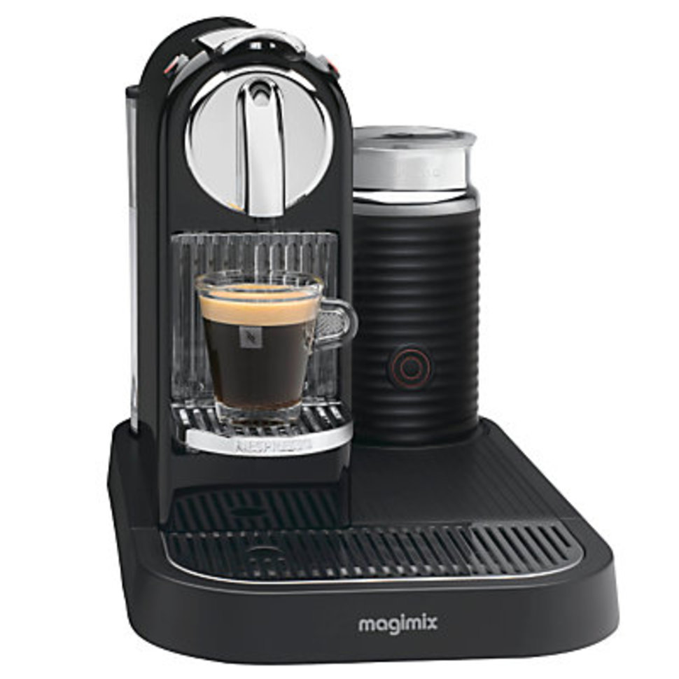 Magimix m190 citiz milk nespresso machine pocket lint - Machine a cafe nespresso ...
