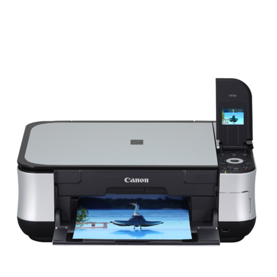 CANON INKJET MP540 DRIVER FOR WINDOWS
