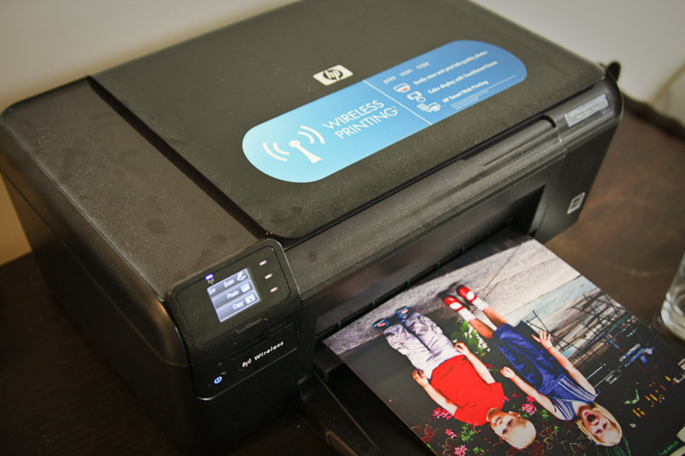 HP Photosmart C4780 all-in-one printer