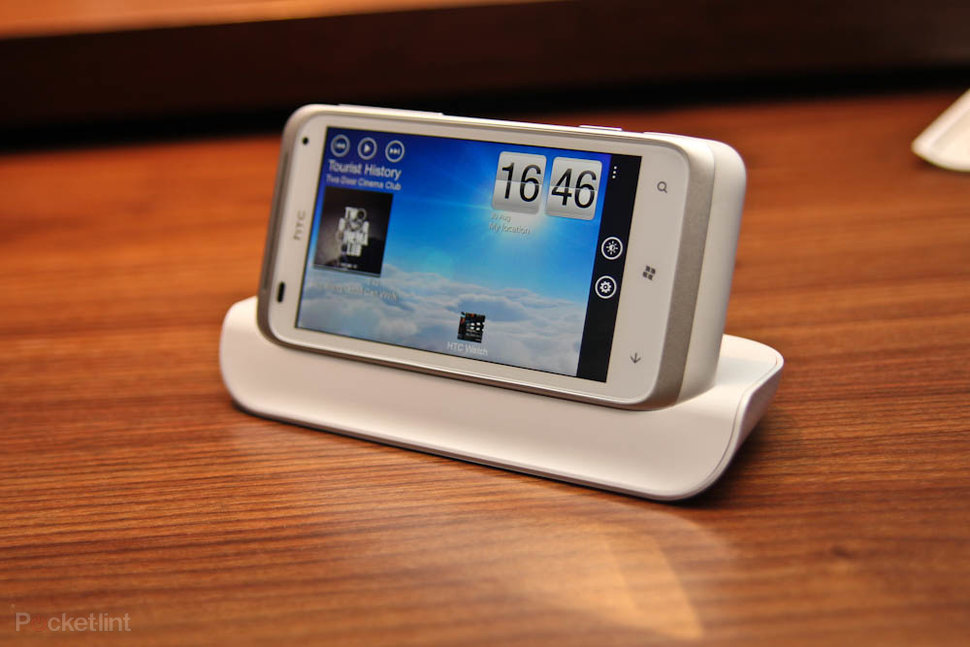 HTC Radar in docking station
