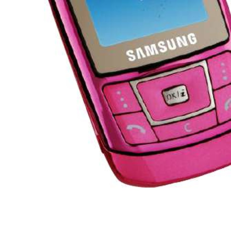 samsung launches pink d900i candy mobile phone on o2 image 1