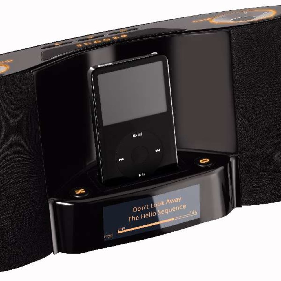 Logitech Launches Pure Fi Dream Premium Bedroom Music System For Ipod Image  1