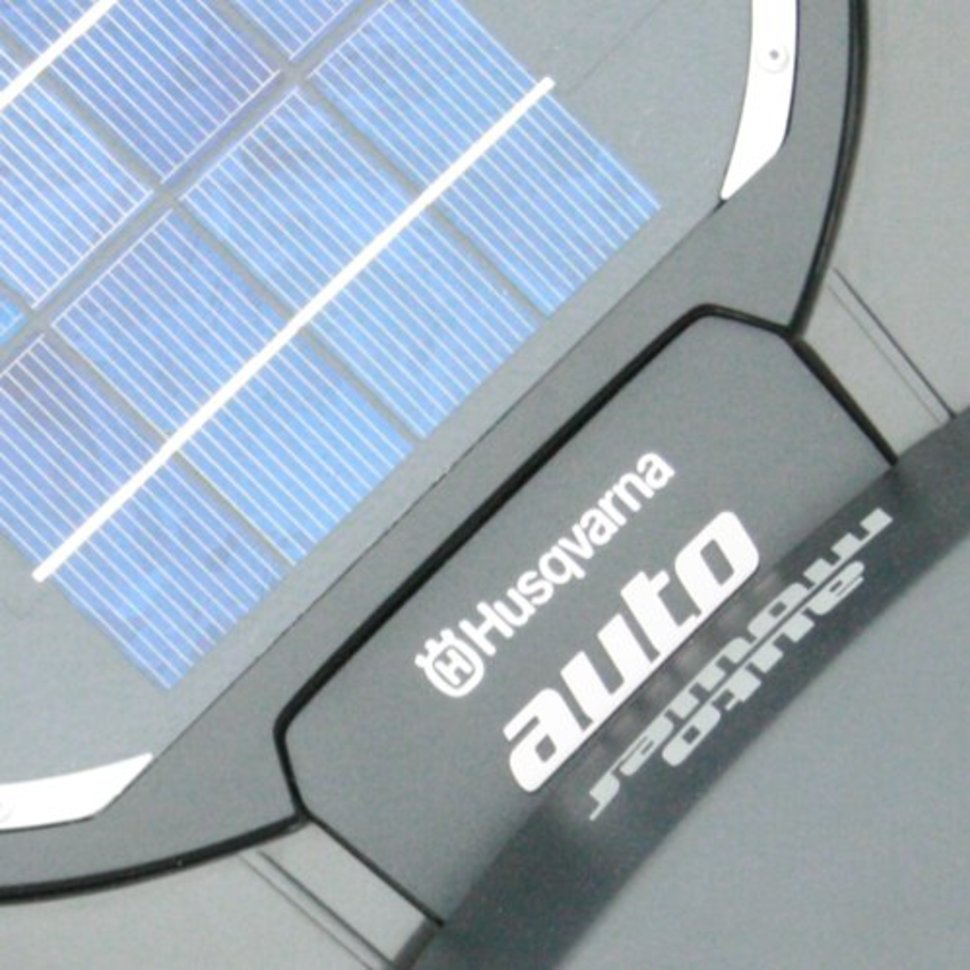 husqvarna solar powered automatic lawnmower launched image 1