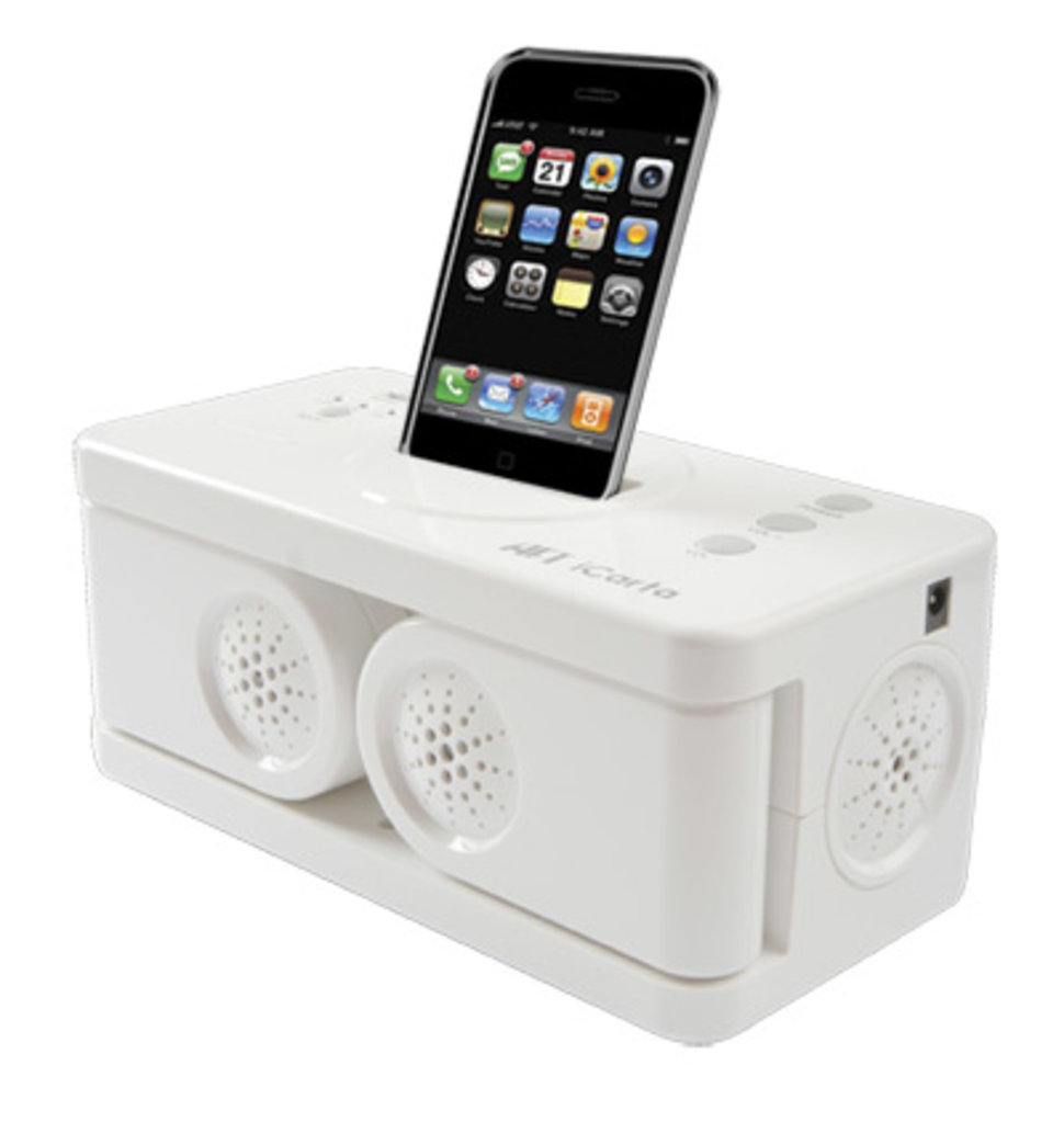 Icarta Toilet Tissue Holding Dock For Ipod Gets A Revamp Image 3
