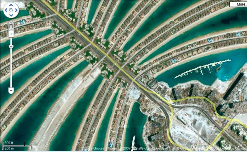 Google Earth Unveils More GeoEye Satellite Images Pocketlint - Google earth satellite map