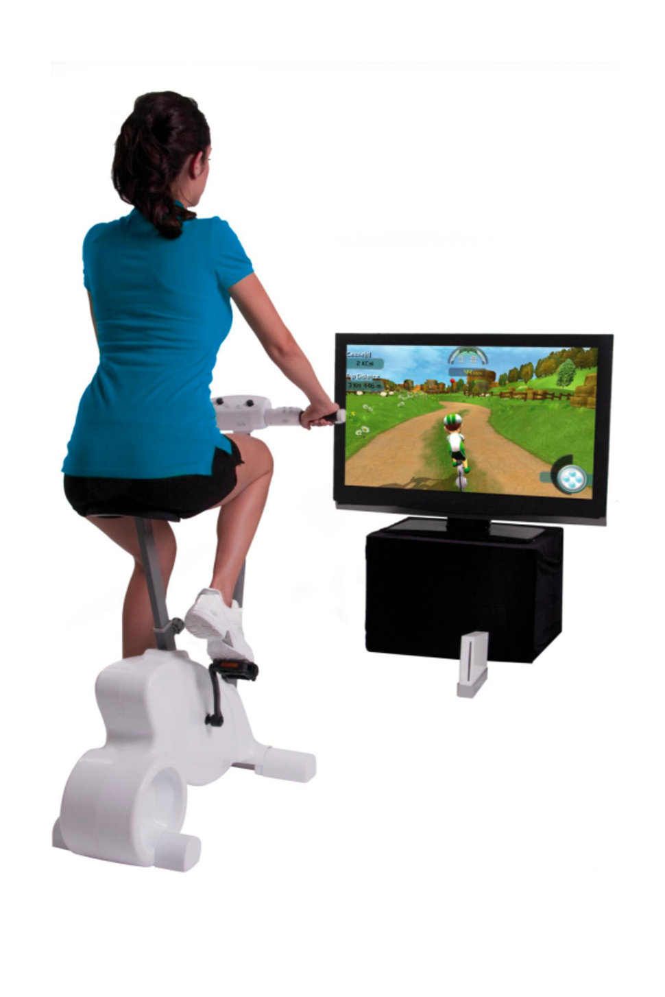 cyberbike brings exercise bike accessory to nintendo wii image 1