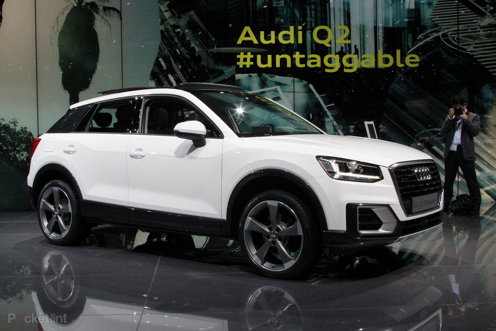 audi q2 the youthful small scale suv pocket lint. Black Bedroom Furniture Sets. Home Design Ideas