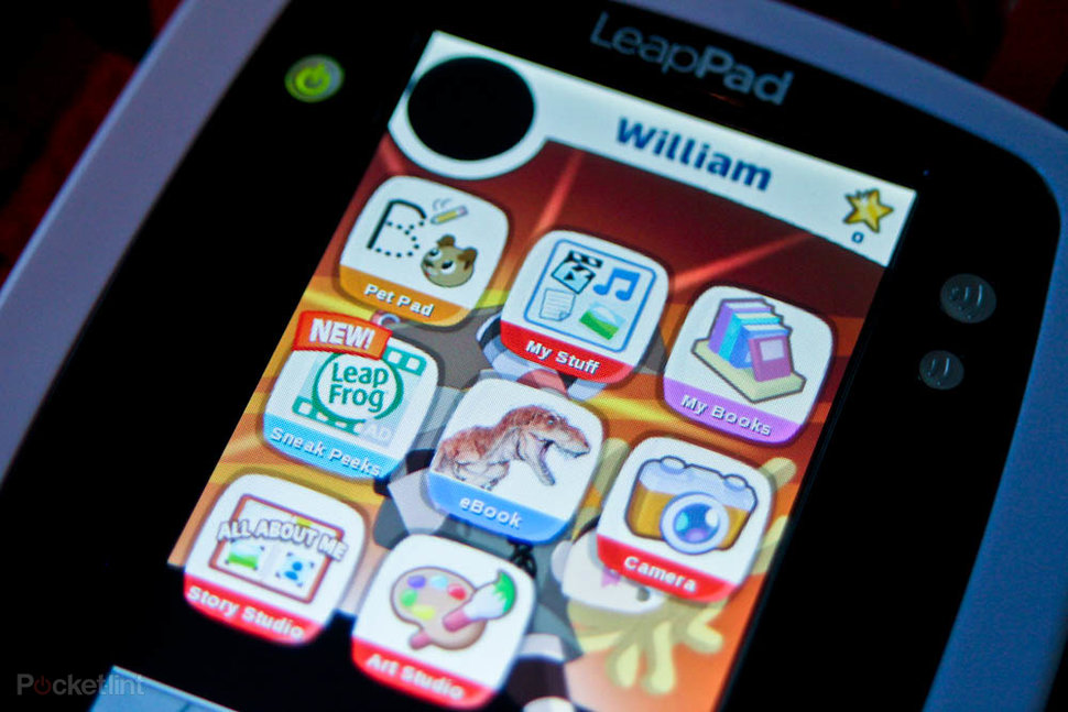 apps on the Leapfrog Leappad