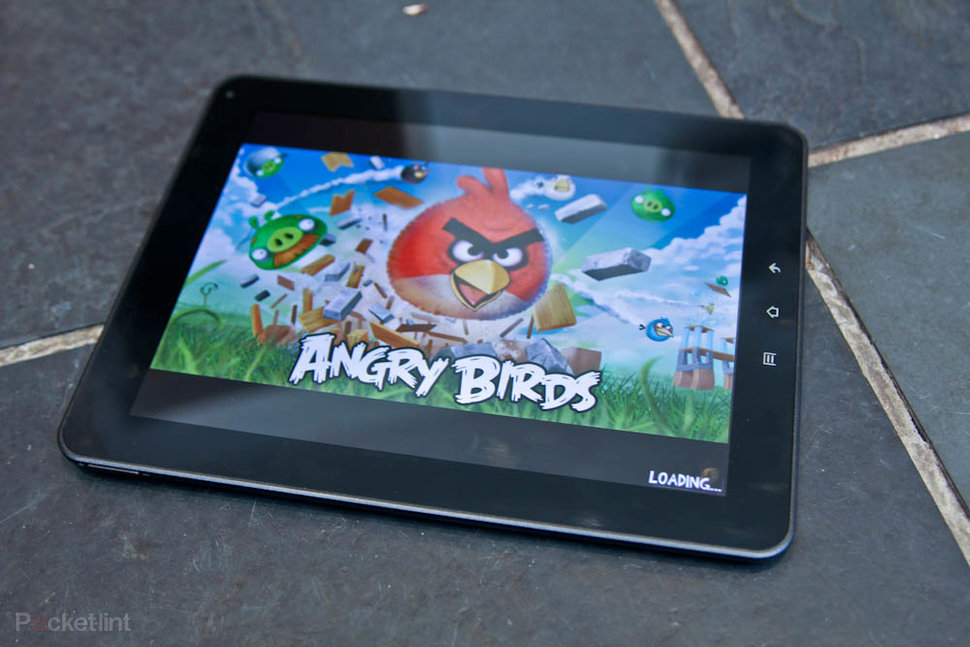Angry Birds on ViewPad 10e