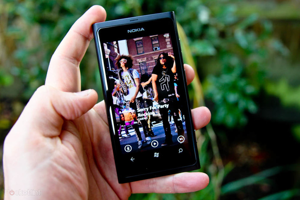 Nokia Music on the Nokia Lumia 800