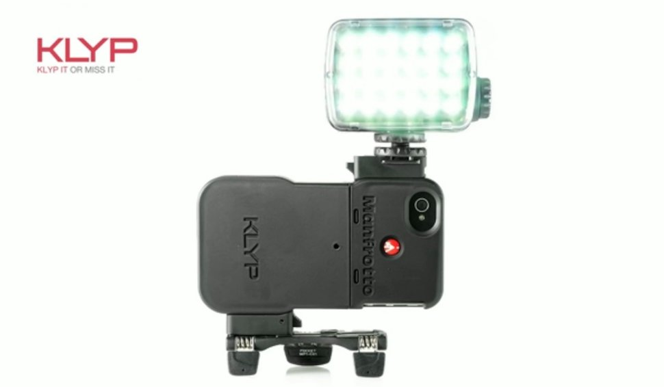 Klyp iPhone cover comes with tripod and flash for improved ...